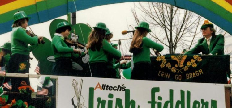 Lexington parade dedicated in memory of Dr. Pearse Lyons